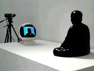 Nam June Paik tv-buddha