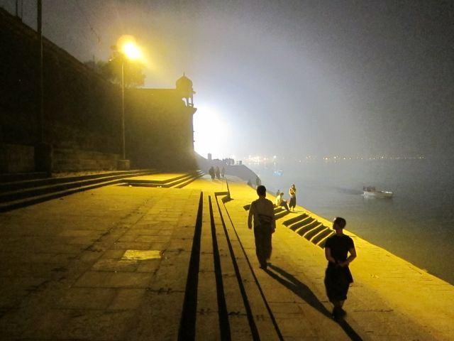 graham-and-ki-walking-the-ghats-at-night-2